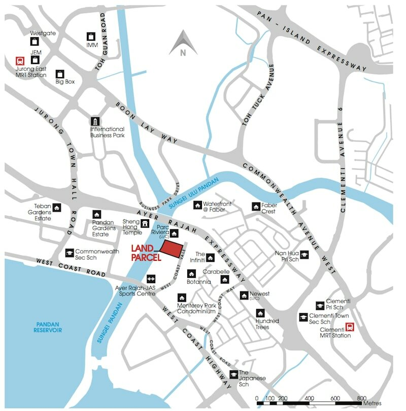 Twin Vew Condo Location Map