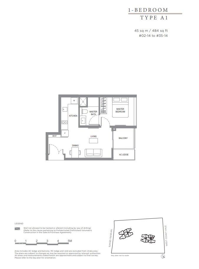 Twin_Vew_Floor_Plan_1_Bedroom_Type_A1