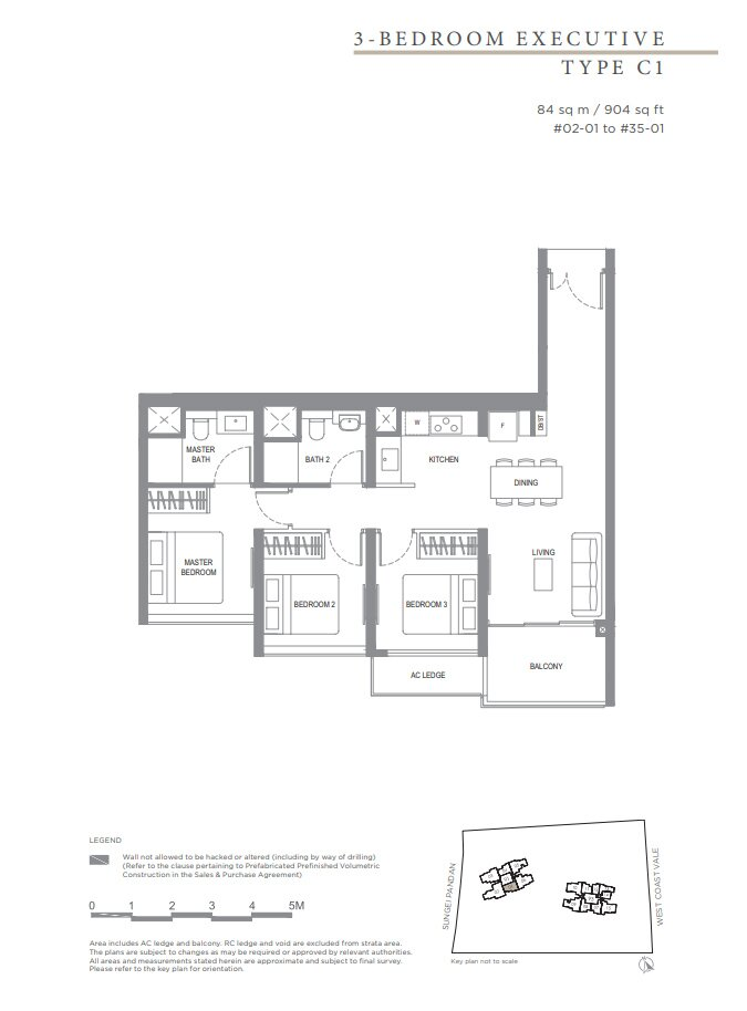 Twin_Vew_Floor_Plan_3_Bedroom_Type_C1