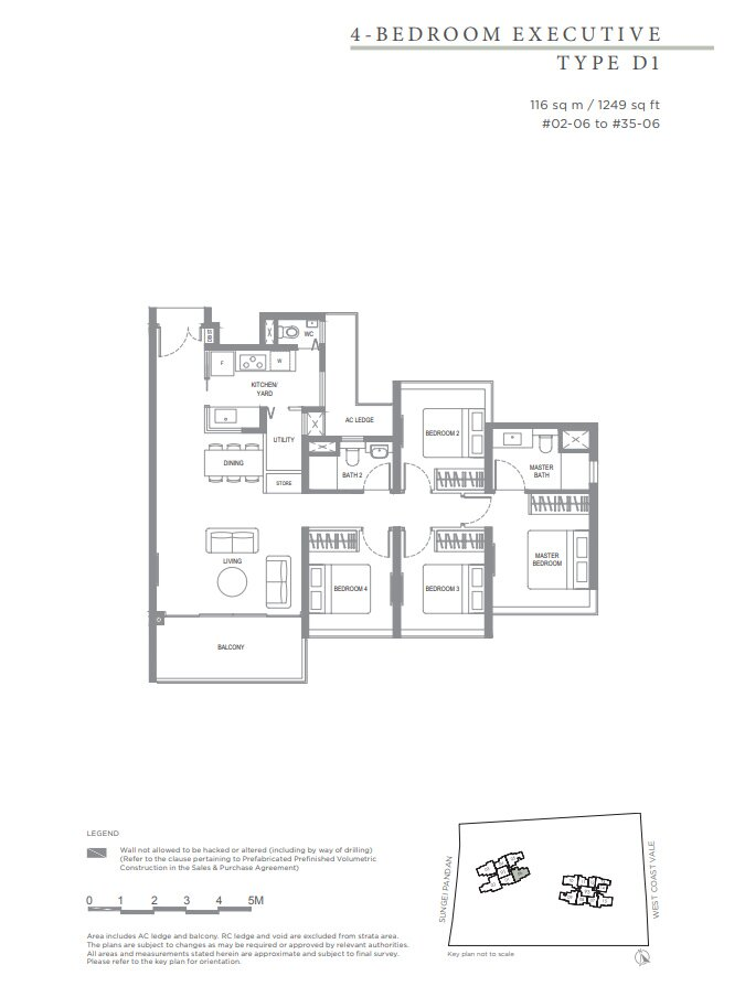 Twin_Vew_Floor_Plan_4_Bedroom_Type_D1