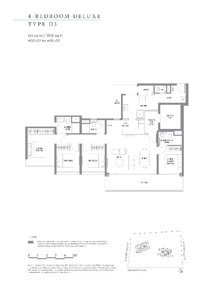 Twin_Vew_Floor_Plan_4_Bedroom_Type_D3